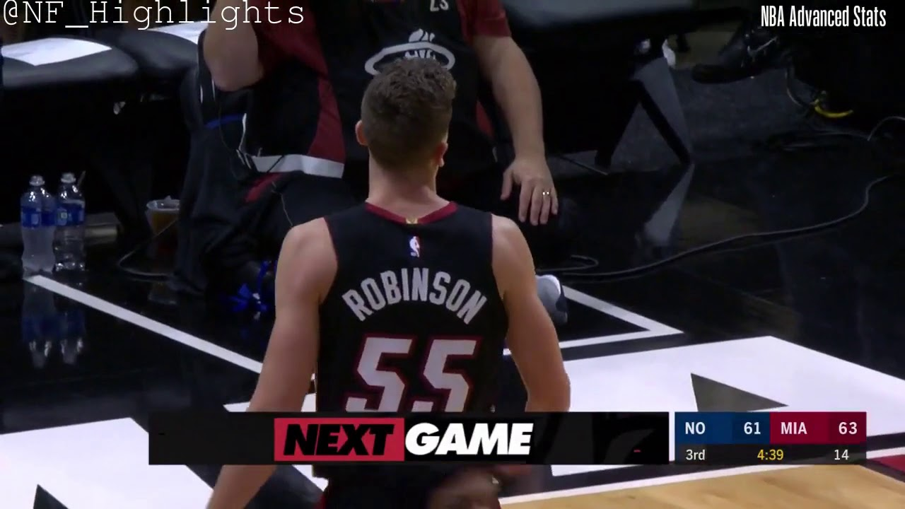 Duncan Robinson 15 Pts All Possessions 11 16 19 Youtube