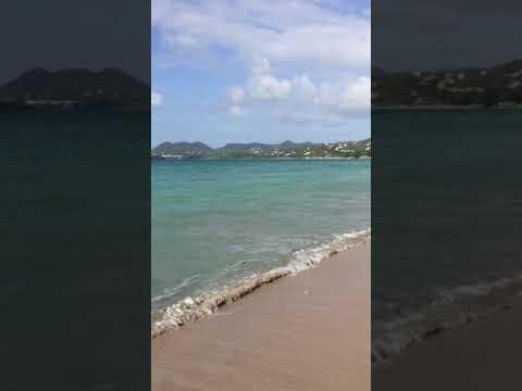 Vigie Beach, The wonderful Island of St. Lucia April 2018.