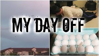 My Day Off | November Rain, Insanity Workout, Eggs