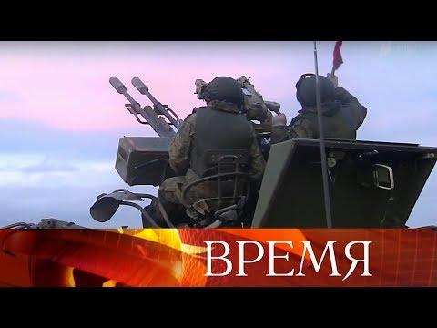 Владимир Путин впонедельник