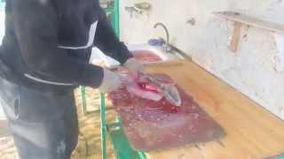 Балык из жереха (подготовка к засолке)