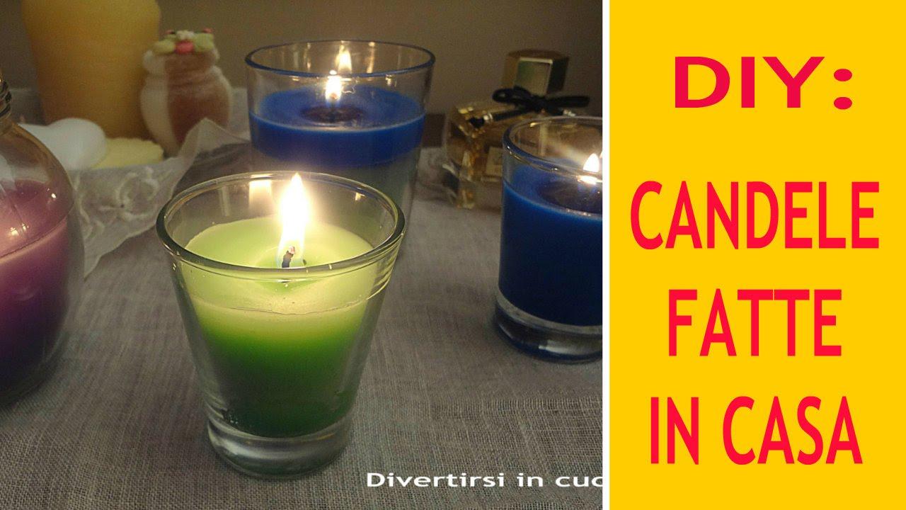 Diy candele fatte in casa youtube - Candele fatte in casa ...