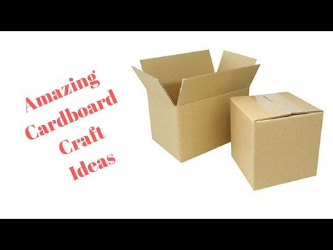 5 Cardboard Boxes Ideas | DIY Storage Box | DIY Organizer | Easy Cardboard Crafts