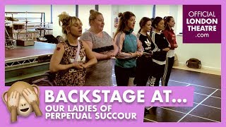 In rehearsal: Our Ladies of Perpetual Succour