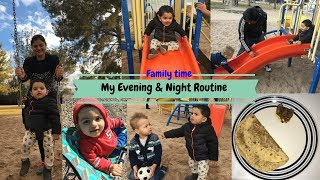 Monday Evening Vlog || Fun Evening with Family || SAHM evening and Night Routine || Real Homemaking