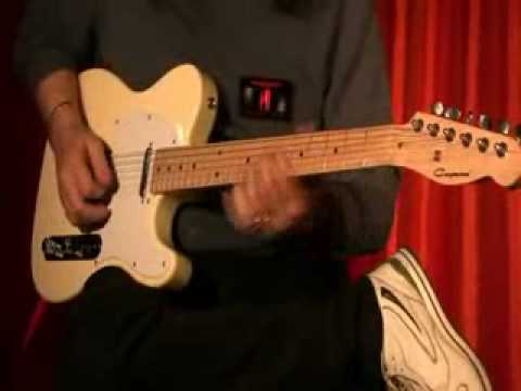 Cayman Guitar TL (Telecaster) model -Video dimostrazione -Max Smeraldi Player-