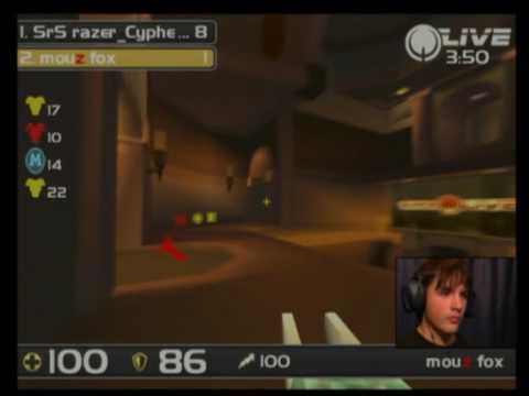 IEM Dubai Quake Live - Cypher vs Fox 2/4