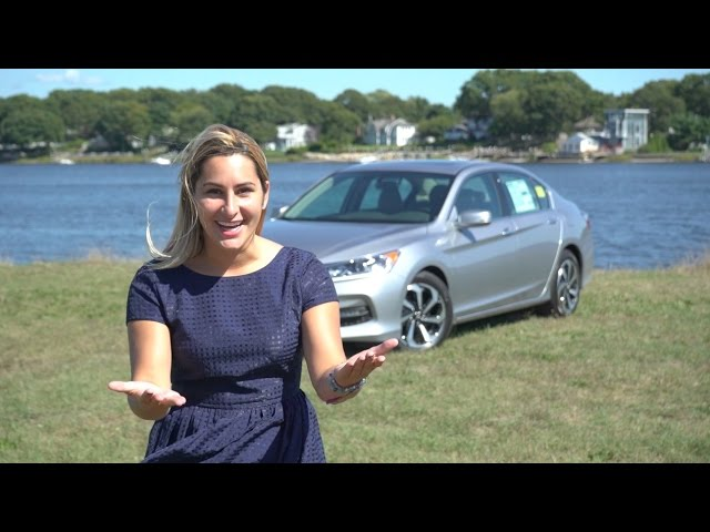 2017 Honda Accord Ex L V6 Review And Test Drive Herb Chambers Honda