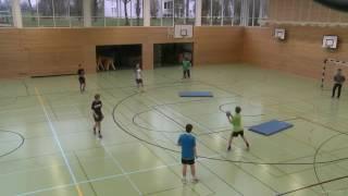 Обучение броскам Гандбол  _ Education rolls Handball