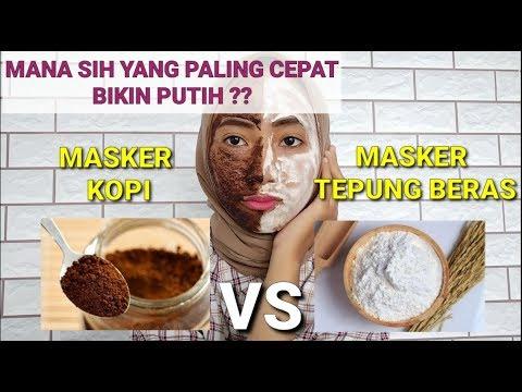 Battle Masker Kopi Vs Masker Tepung Beras Mana Sih Yang Cepat Bikin Putih Wulanhusna Youtube