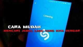 Cara mencari judul lagu yang kita dengar dengan android