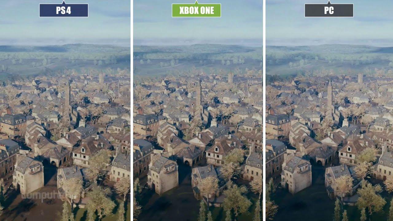 Assassin's Creed: Unity - PC vs. Next Gen - Graphics Comparison - YouTube