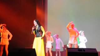 Алена Головань & Дружба - Left outside alone ( сольный концерт 2013)