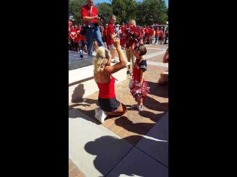 Husker Cheerleader