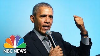 Obama Criticizes Trump Administration's Coronavirus Response As Chaotic Disaster | NBC Nightly News