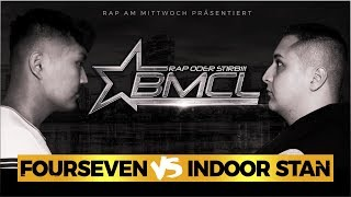BMCL RAP BATTLE: FOUR SEVEN VS INDOOR STAN (BATTLEMANIA CHAMPIONSLEAGUE)