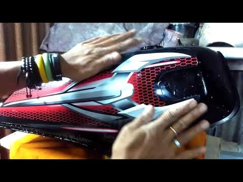 How to Apply Sticker Vinyl Motorcycle