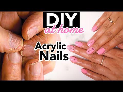 Tutorial: Acrylic Nails Design at Home