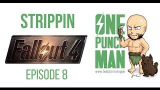 SAITAMA vs SWAN - One Punch Man (Fallout 4) - Episode 8