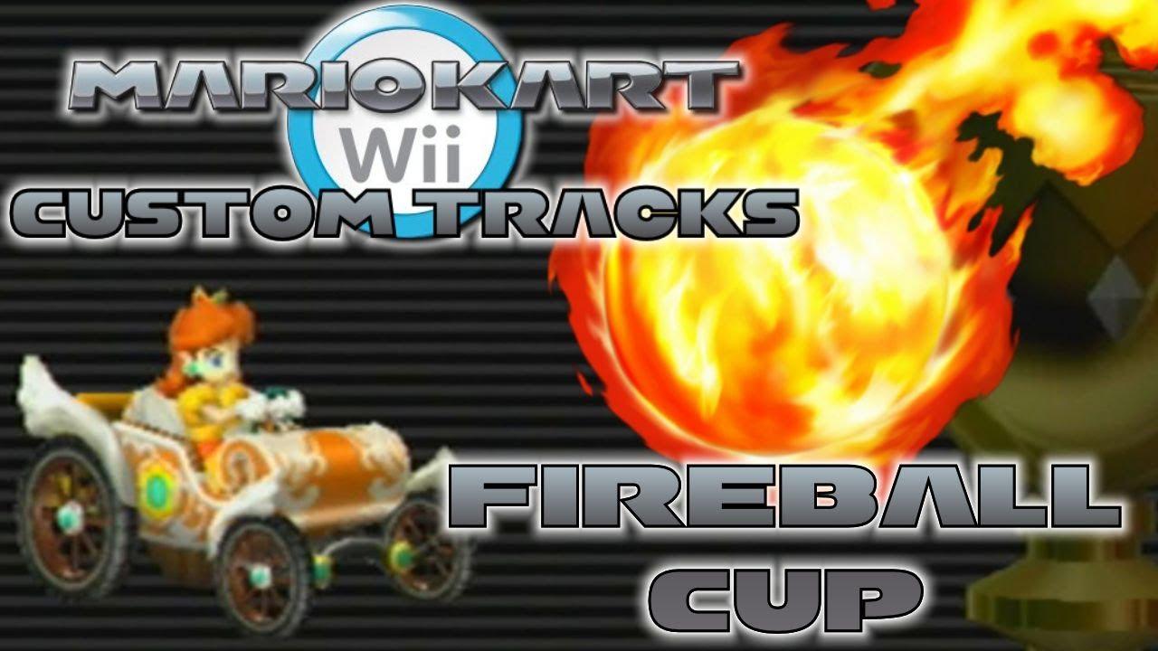 Mario Kart Wii Custom Tracks Fireball Cup Wii Wheel