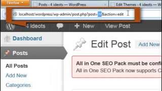 SEO for Wordpress : control index or noindex total wordpress
