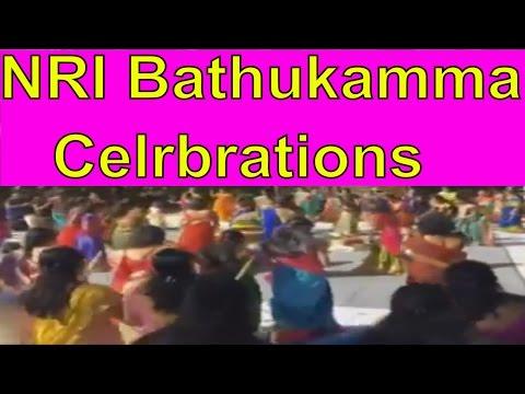 Watch Telangana NRI Women Bathukamma Celebrations At Durham- U.S.A || Metro TV Telugu