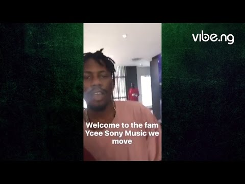 YCEE Gets Signed To Sony Music Entertainment Africa