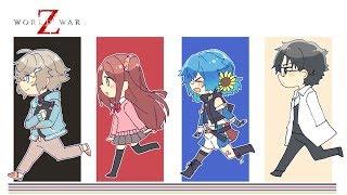 話題の新作ゾンビゲーム! with クレイジー戦隊! World War Z  【にじさんじ/叶】