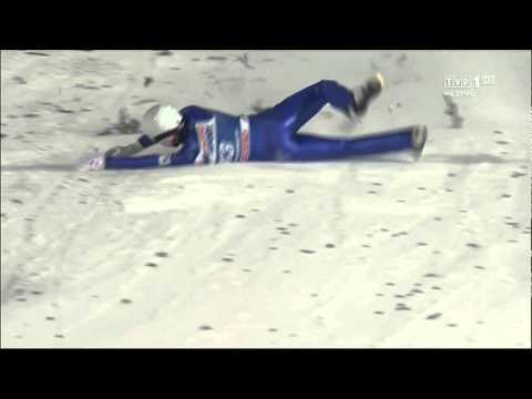 Junshiro Kobayashi Lillehammer crash (06.12.2014)