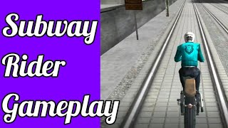 Subway Rider - Train Rush Android Gameplay