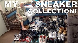 MY DAD REACTS TO MY SNEAKER COLLECTION!