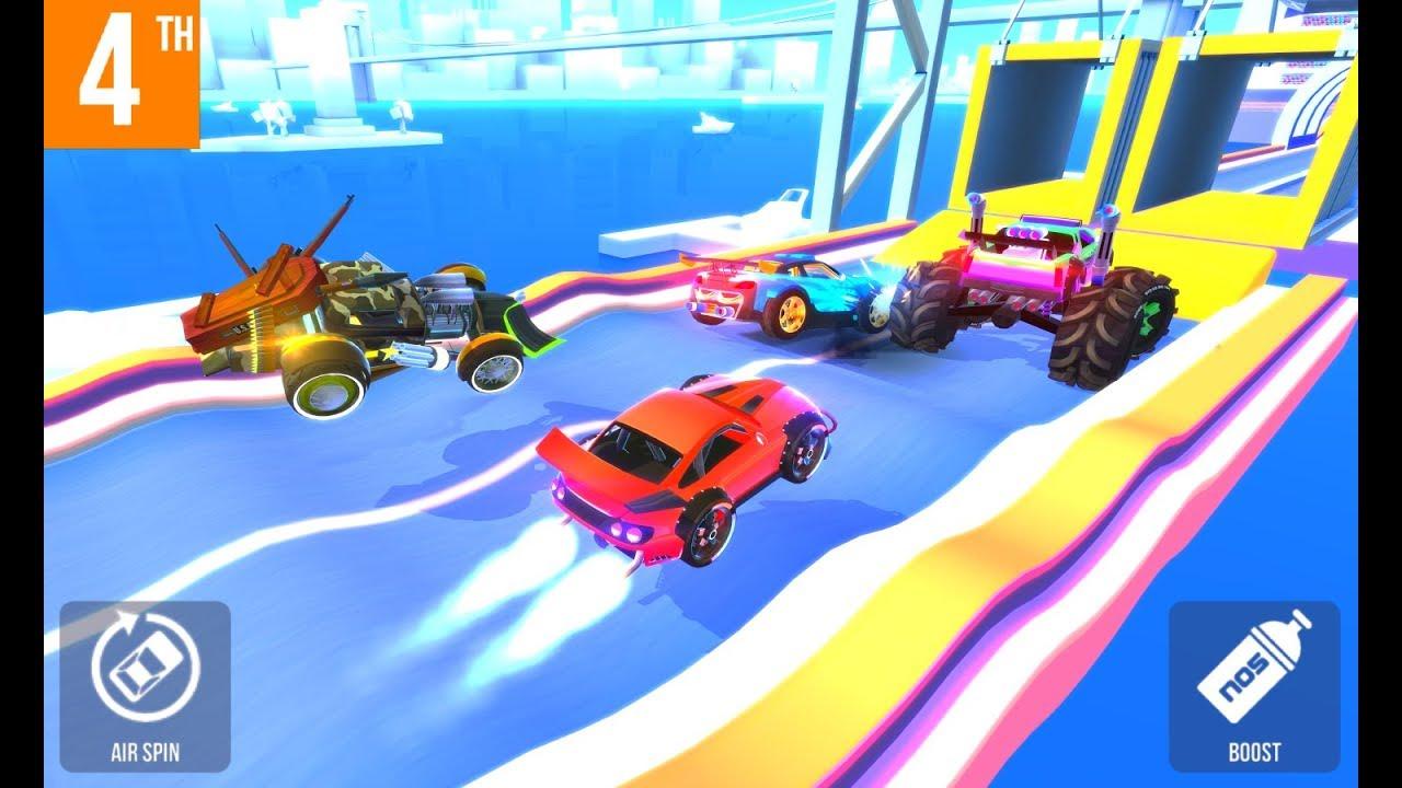 SUP multiplayer racing KHALED n 6 car animation n stuff