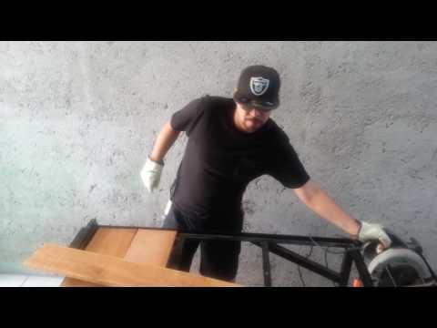 Making a Metal Workbench