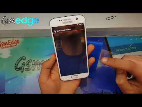 Samsung Galaxy S7 Bypass Google Account 2017