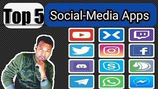 Top 5 Social Media Apps !! With full Details