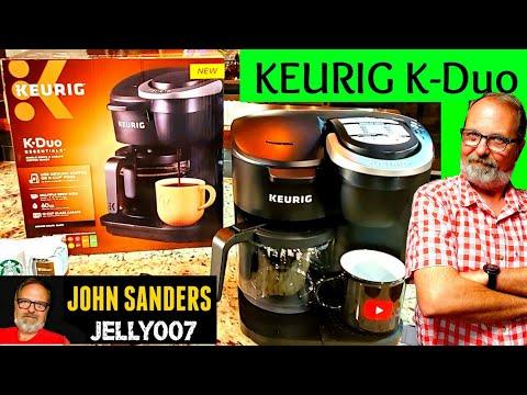 KEURIG K-Duo ESSENTIALS   DUAL PURPOSE   K CUP & GROUND COFFEE BREWER 2019