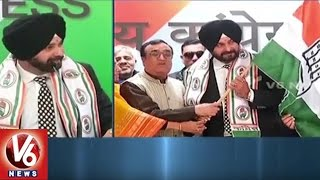 Punjab People Welfare Is The Only Aim, Says Navjot Singh Sidhu | V6 News
