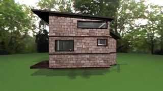 Djs 8x12 Tiny House Design