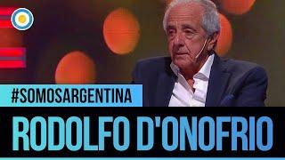 Rodolfo D'Onofrio, presidente de #River en #SomosArgentina