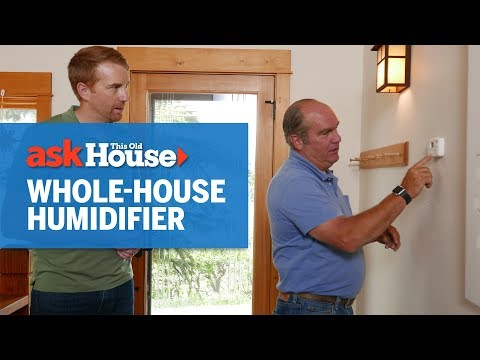 How to Install a Whole-House Ductless Humidifier | Ask This Old House