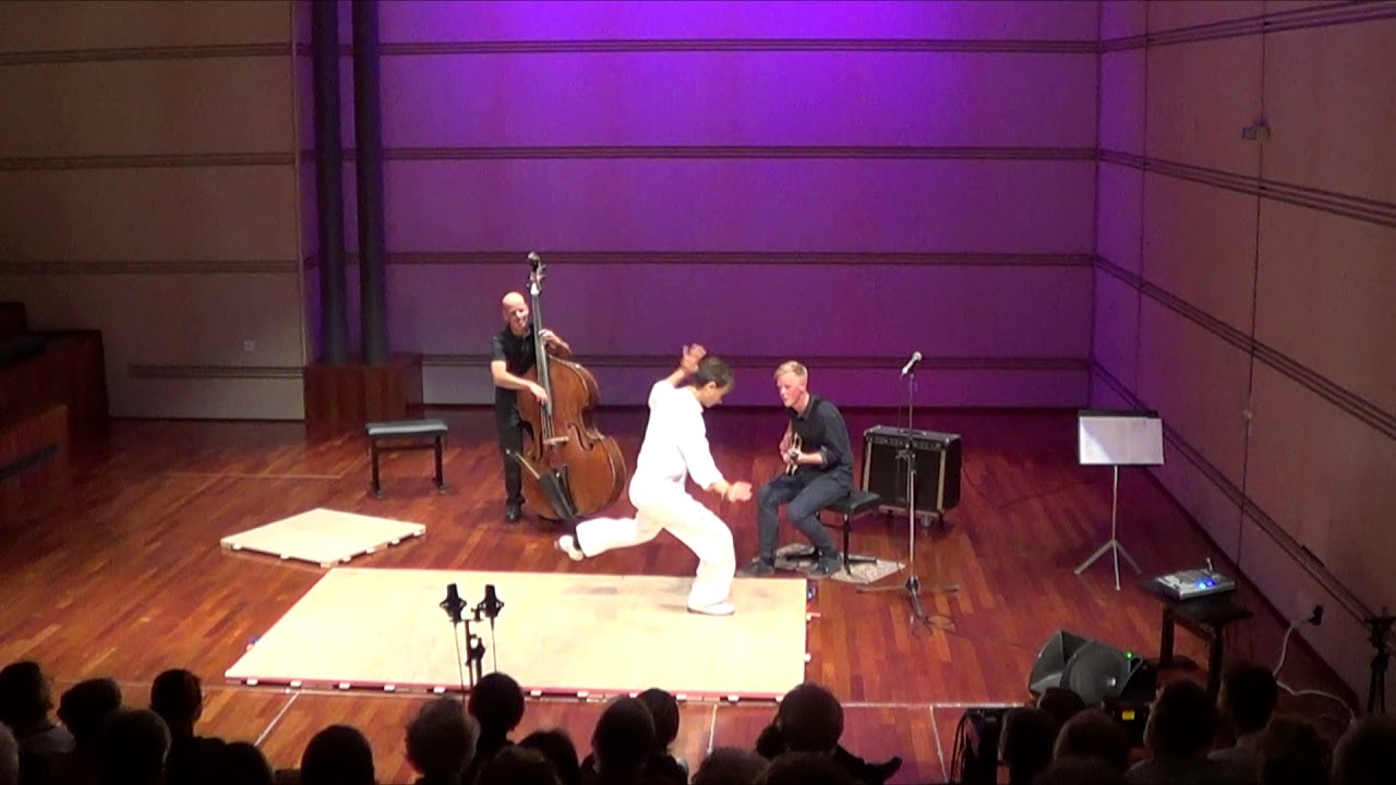 trio improv iste - improvised tap dance show and concert with live jazz  music 9f7449005f1