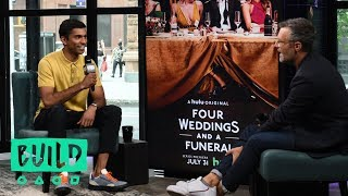 """Nikesh Patel Chats About The Hulu Series, """"Four Weddings and a Funeral"""""""