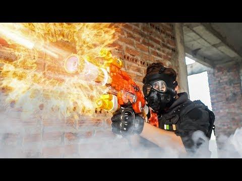 LTT Nerf Mod : Special War Nerf Guns Battle Skill Mod Shooter Laser Of SEAL X