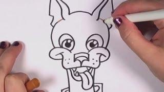 Wie zeichnet man einen Cartoon-Hund - CC