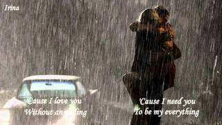 Without You ~ Laura Pausini ~ Lyrics