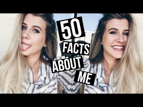 50 FACTS ABOUT ME   Sydney Joz