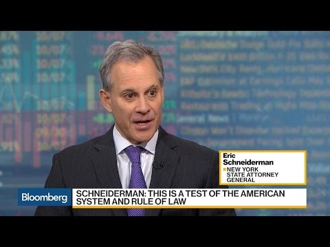 NY AG Eric Schneiderman Explains 'Sanctuary Cities'