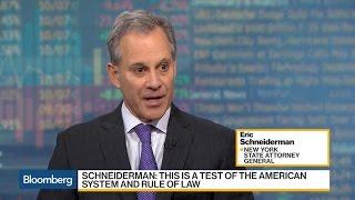 NY AG Eric Schneiderman Explains 'Sanctuary Cities'