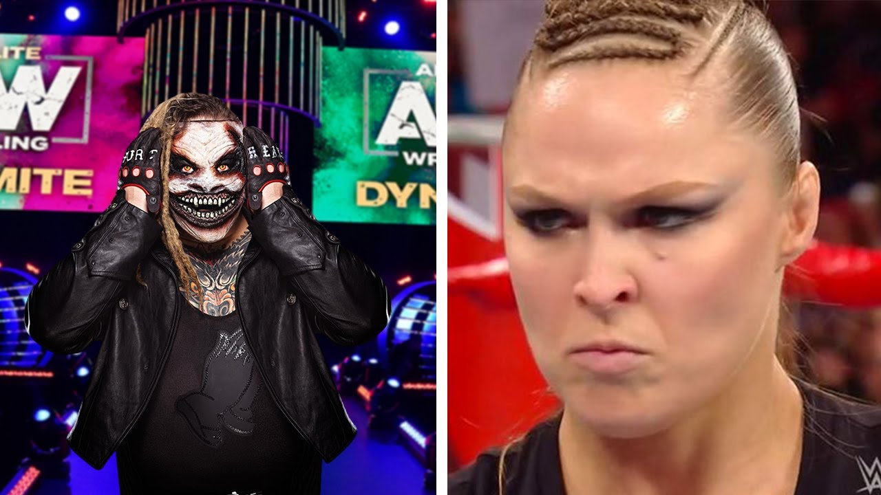 Fired WWE Superstar Signs With AEW...Rousey Rips WWE Fans...Wrestling Legend RIP...Wrestling News