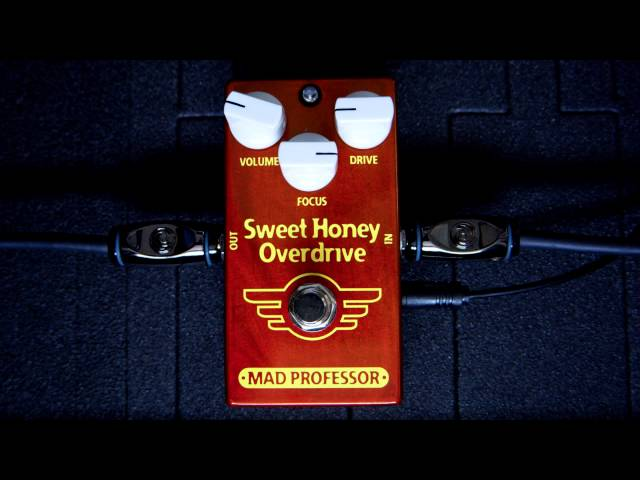Mad Professor Sweet Honey Overdrive PCB Demo